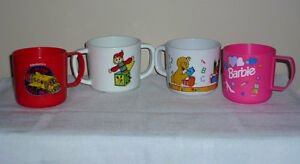 4 Toddler Cups : Clean,SmokeFree, As Shown Cambridge Kitchener Area image 2