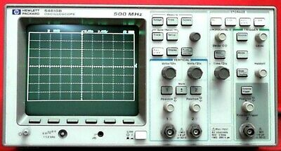 Hp - Agilent - Keysight 54610b Oscilloscope 2 Channel 500 Mhz 20 Mss