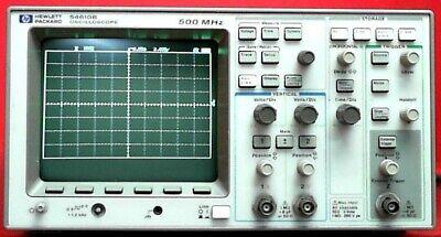 Hp - Agilent - Keysight 54610b Oscilloscope 2 Channel 500 Mhz 20 Mss