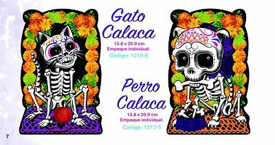Day Of The Dead Items (NEW ITEMS! DOG AND CAT 2- POSTERS- DAY OF THE DEAD, DIA DE MUERTOS )