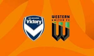 2x Western United FC v Melbourne Victory A-League Soccer Tickets