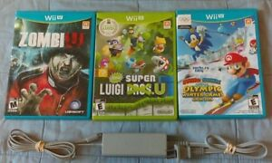 Nintendo Wii U ZombiU, New Super Luigi U, Winter Games +++
