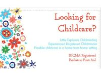 Childminder Availably