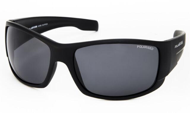 ba8089b148 NEW Polasports Polarised Mens Sports Sunglasses - 4808B Skipper Matt Black