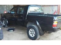 Mitsubishi 6 stud l200 wheels & tyres 139.7
