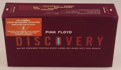 G-K-39O-R-F7 PINK FLOYD DISCOVERY 16 CD BOX SET BRAND NEW SEALED SHIPS WORLDWIDE