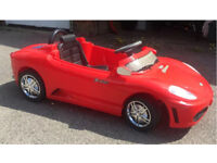 Kids 6 v electric car Ferrari Roadster Style with remote control