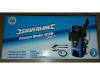 Silverline Pressure washer 1650w/105bar New