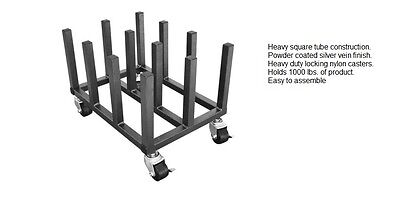 12 Roll Heavy Duty Vinyl Digital Media Printing Storage Mobile Floor Rack