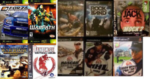 Original XBOX, PS2, and Playstation games (Various Prices) -