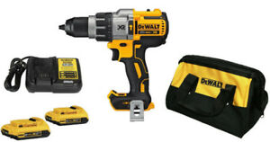 NEW DEWALT DCD796D2 KIT XR 20V Max Li-Ion Brushless Hammer Drill