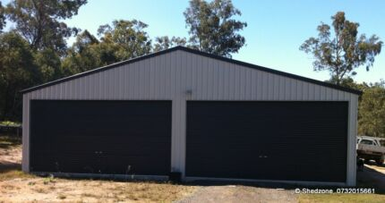 12m x 12m SHED INDUSTRIAL SHEDS WORKSHOP GARAGE Raceview Ipswich City Preview
