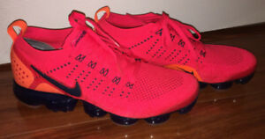 Nike Air Vapormax Flyknit 2 - Red Orbit/Obsidian/Total Orange
