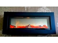 Dimplex SP16 Wall Mounted Electric Fire, Heater output 2kw.