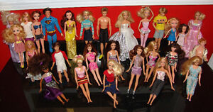 Barbie Doll Lot Boys and Girls Barbies