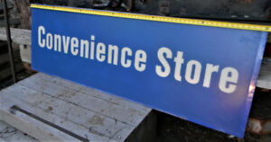 LARGE CONVENIENCE STORE SIGN