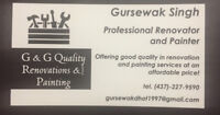 Painting, flooring and handyman jobs at affordable prices!