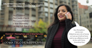 UNLIMITED Mob and Landline Calling 60 Countries @ $13.99