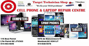 TARGET TECHNICIAN SHOP ( Cellphone /laptop & Tablets) Repair