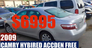 Camry 2009 Hybrid  Sunroof Alloy wheel Accident free