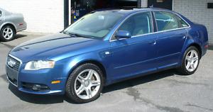 Audi A4 S-LINE 2008 Quattro, automatique, 117 000 km, cuir, toit