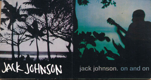 Jack Johnson On and On RARE promo sticker sheet