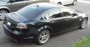 2009 Pontiac G8 GT Sedan w/winter tires and mag rims ready to go
