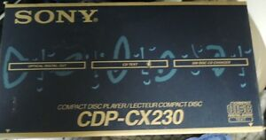 Sony CDP-CX230 200 CD Changer Brand New Factory Sealed