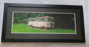 Clancy Haven Huon High Bus Combi Van Framed Photo Kyneton Macedon Ranges Preview