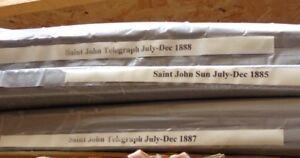 Vintage Newspapers