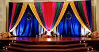 Affordable wedding backdrops for any event $250