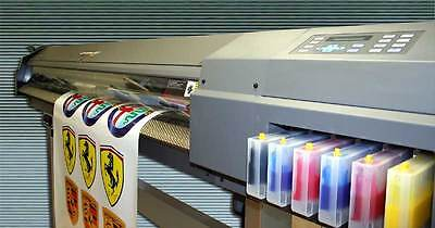 "Roland CJ-500 Eco Solvent Printer/Cutter - 54"" Wide - Lots of Extras - Excellent"