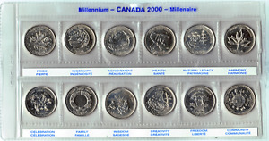 Various Canadian Coins