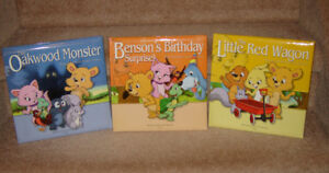 NEW Benson Bear and Friends Hardcover Books