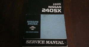 1995 Nissan 240sx service manual and owner manual