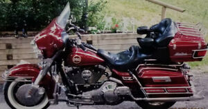 1996 Harley Davidson Ultra Classic Electra Glide Motorcycle