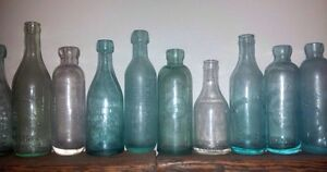 DUG UP OLD BOTTLES wanted!