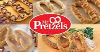 Service à la clientèle au Mr. Pretzels