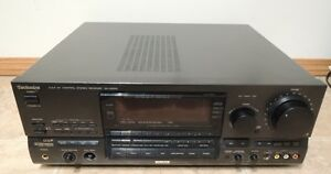 Technics SA-GX910PP-K Receiver For Parts Or Repair