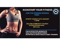 BOOK YOUR FREE LOSE FAT, TONE UP, GET FIT INDOOR BOOTCAMP!
