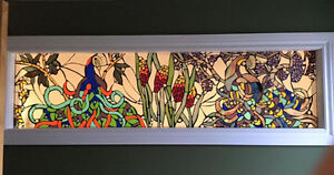 MOSAIC STAINED GLASS WINDOWS!