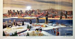 Lithograph by Jean Paul Langlois Signed by the Artist!!!!! West Island Greater Montréal image 1