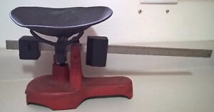 Antique Cast Iron Fairbanks Candy Scale Complete Working