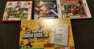 Nintendo 2DS includes 4 games!