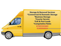 Removals & Storage Full or Part Loads, Courier & Man With A Van *We Will Beat Your Quote!!!!*