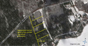 Building Lots for sale with deeded Lake access to Angevine Lake