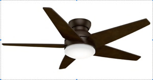 "Ceiling Fan Casablanca 44"" Low Profile with light"