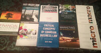 GUELPH HUMBER BUSINESS ADMIN FRIST YEAR TEXTBOOKS