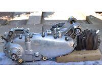 Lambretta engine plus bits 225 barrel and piston amal mk2 carb and manifold not vespa