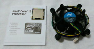 Intel Core i5-760 Quad-Core 2.8 GHz CPU + cooler